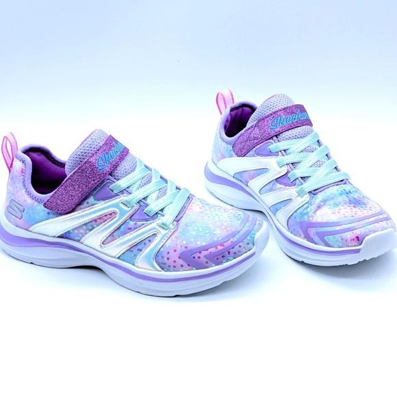 7592b74e8a35 Skechers Girls UNICORN Magical Foam Sneakers 2.5